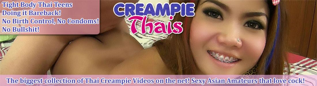 hot thai amateurs filled with cum